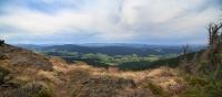 Ausblick ins Land vom Steinbühler Gesenke