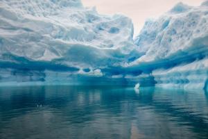 Eisgebirgskulisse