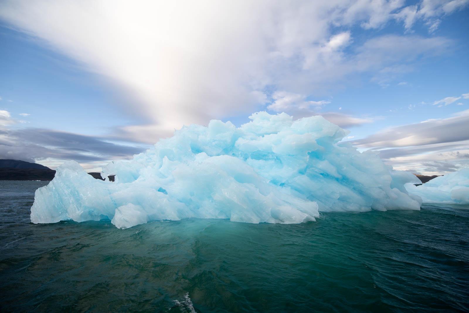 Der Eis-Vulkan