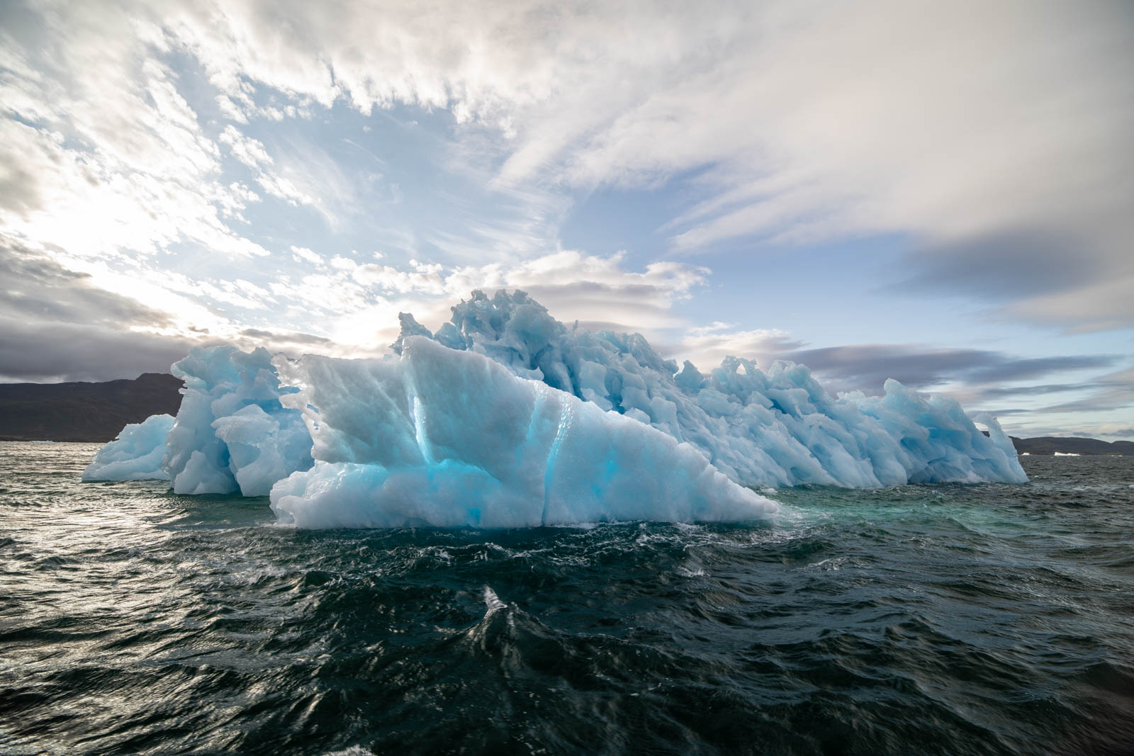 Was ist verrückter - Himmel oder Eisberg?