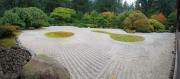 Zen-Garten am Pavilion