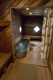 Eine Stunde Onsen in Crystal Crane Hot Springs