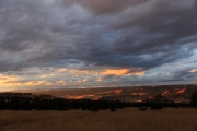 Sonnenuntergang von der Ritter Butte