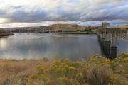 Zwei Brücken über den Snake River bei Lyons Ferry