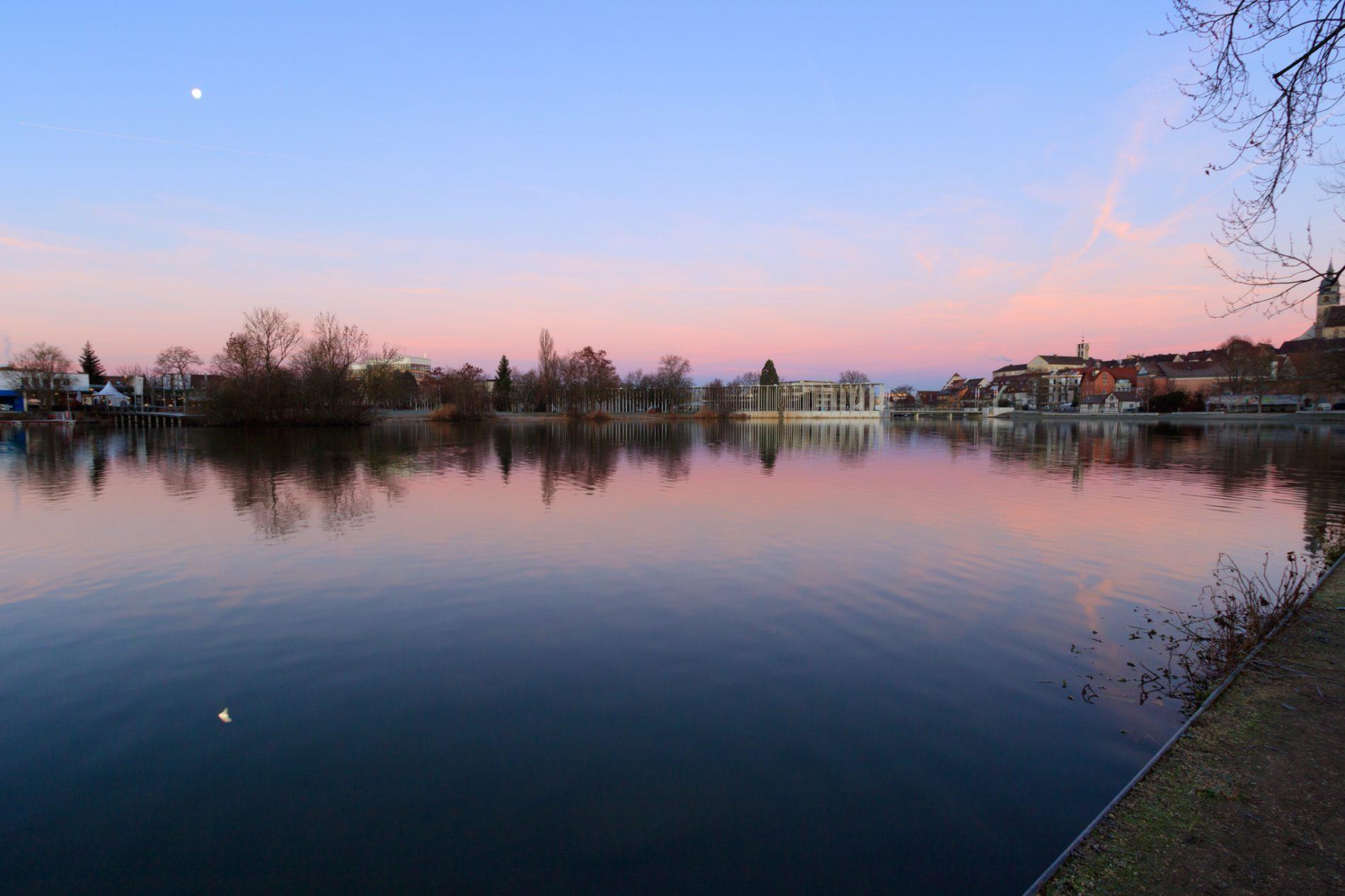 Böblingen, See, Sonnenaufgang
