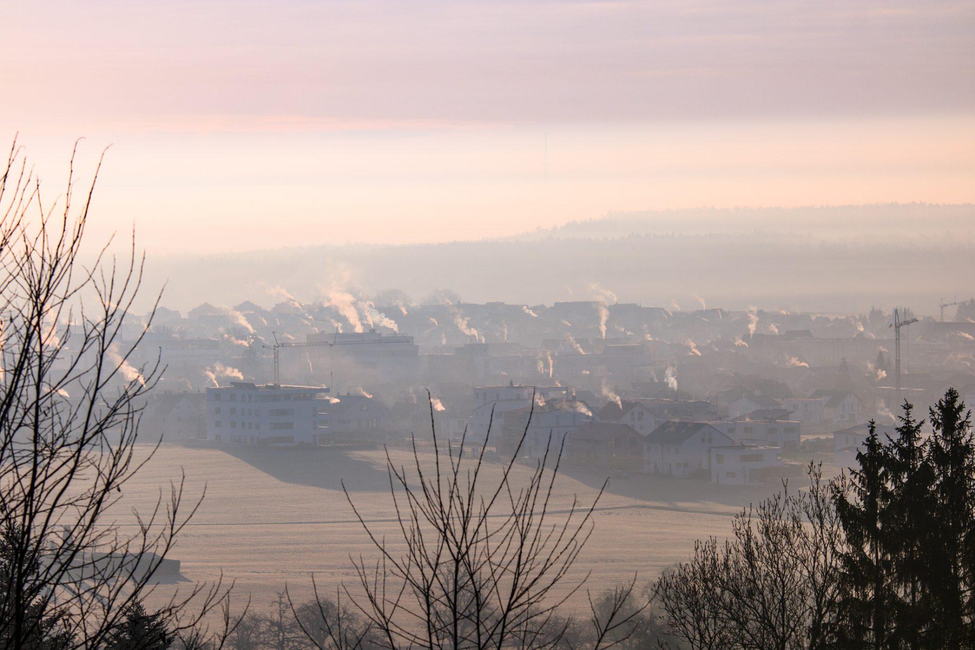 Winter Inversionswetterlage