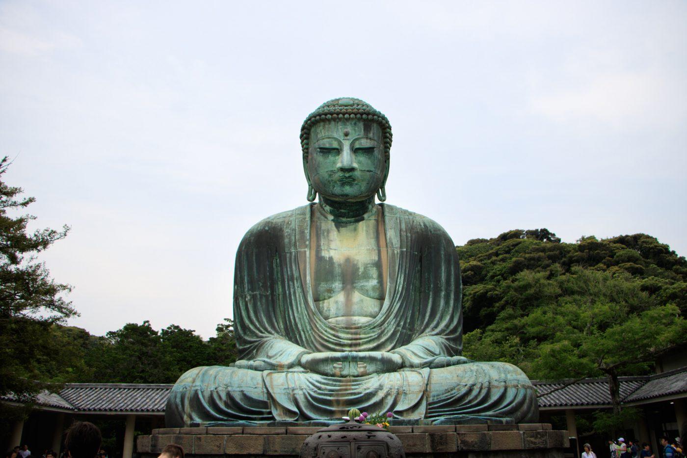 Der Buddha von Hase (Kamakura), Daibudsu, Japan