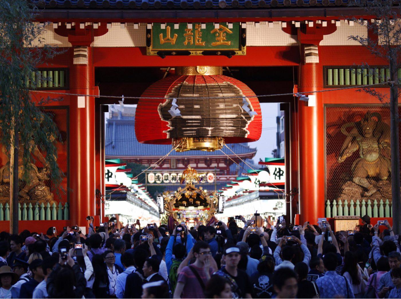 Sanja Matsuri, das große Tempelfest im Asakusa-Bezirk, Tokyo, Japan