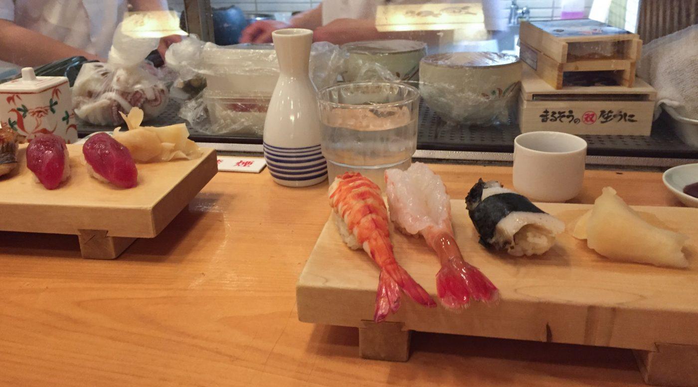Leckerste Sushi in Tokyo