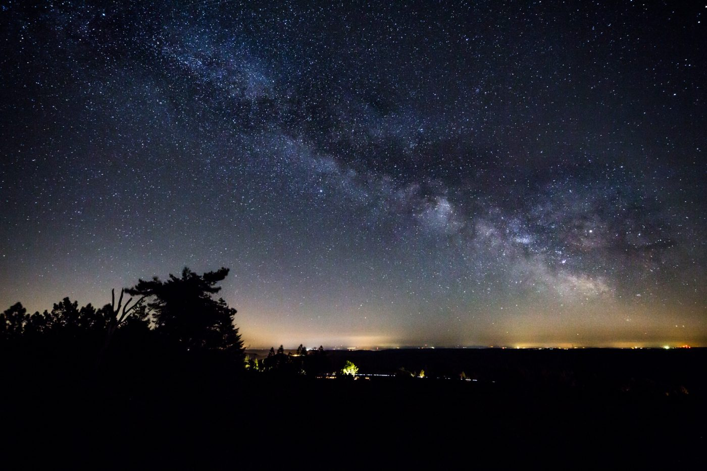 Photo: Milky way on new moon