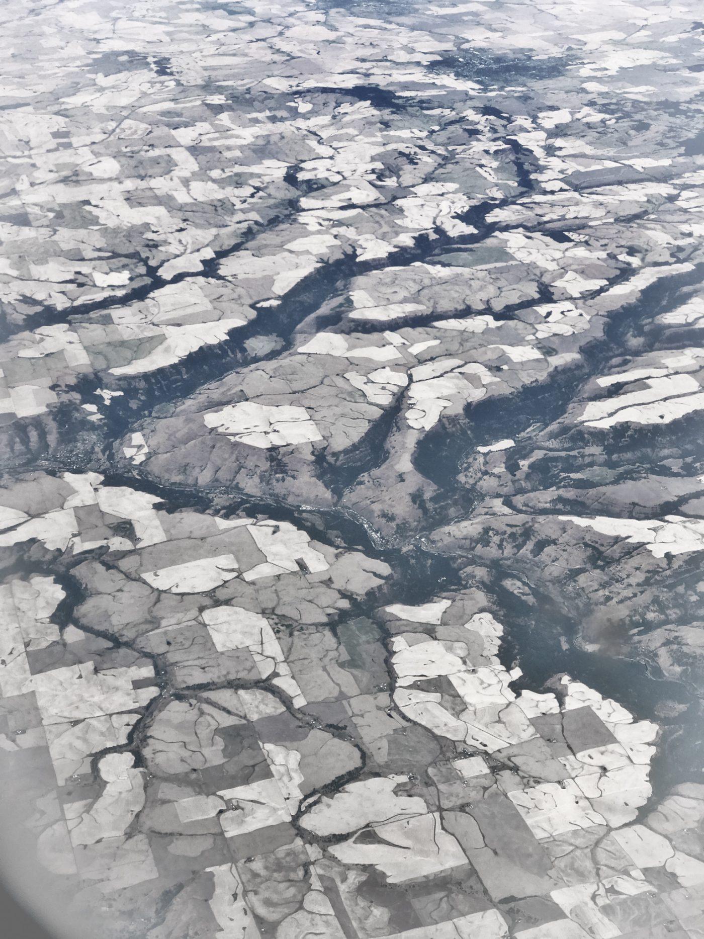 Photo: Flying over Idaho