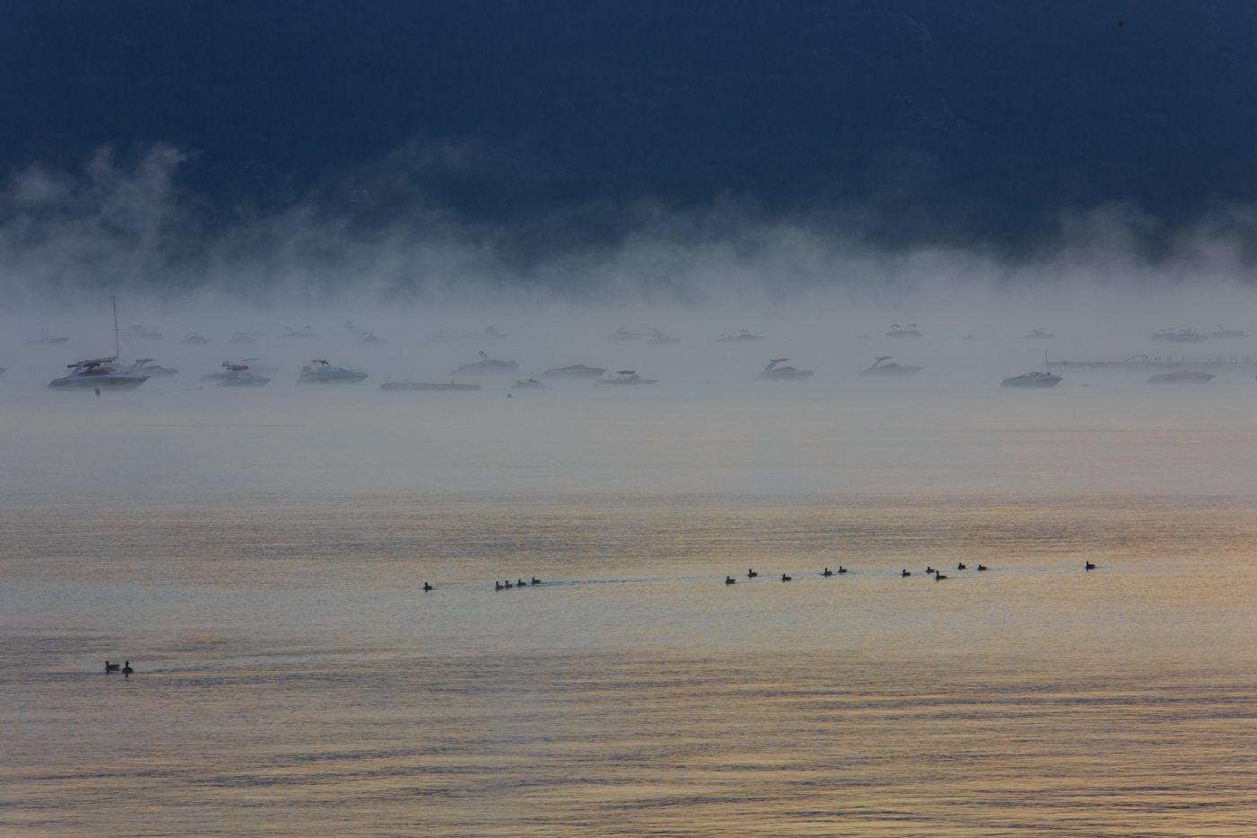 Photo: Lake Tahoe at dawn