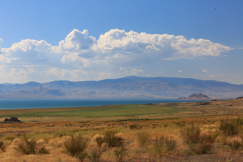 Photo: Pyramid Lake