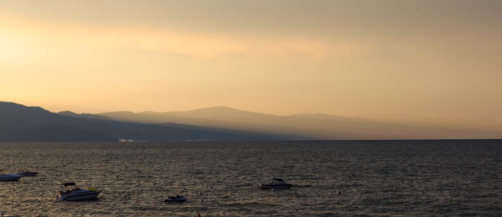 Photo: Sunset at Lake Tahoe