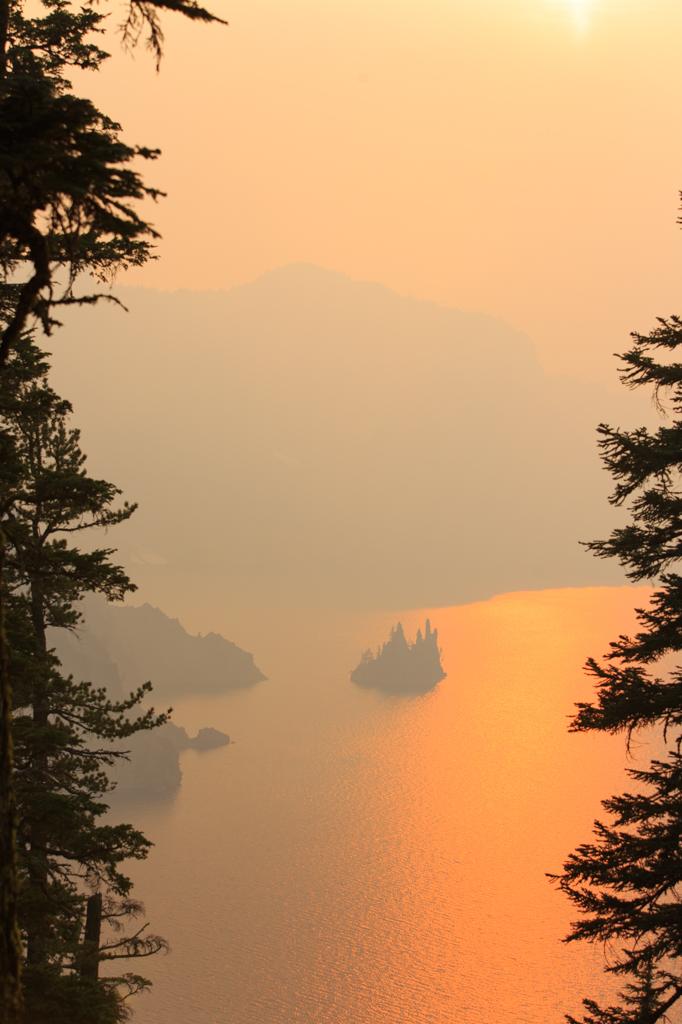 Photo: Phantom Ship in smoke