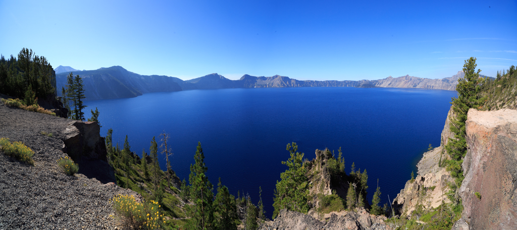 Crater Lake, Oregon, See, Cascades