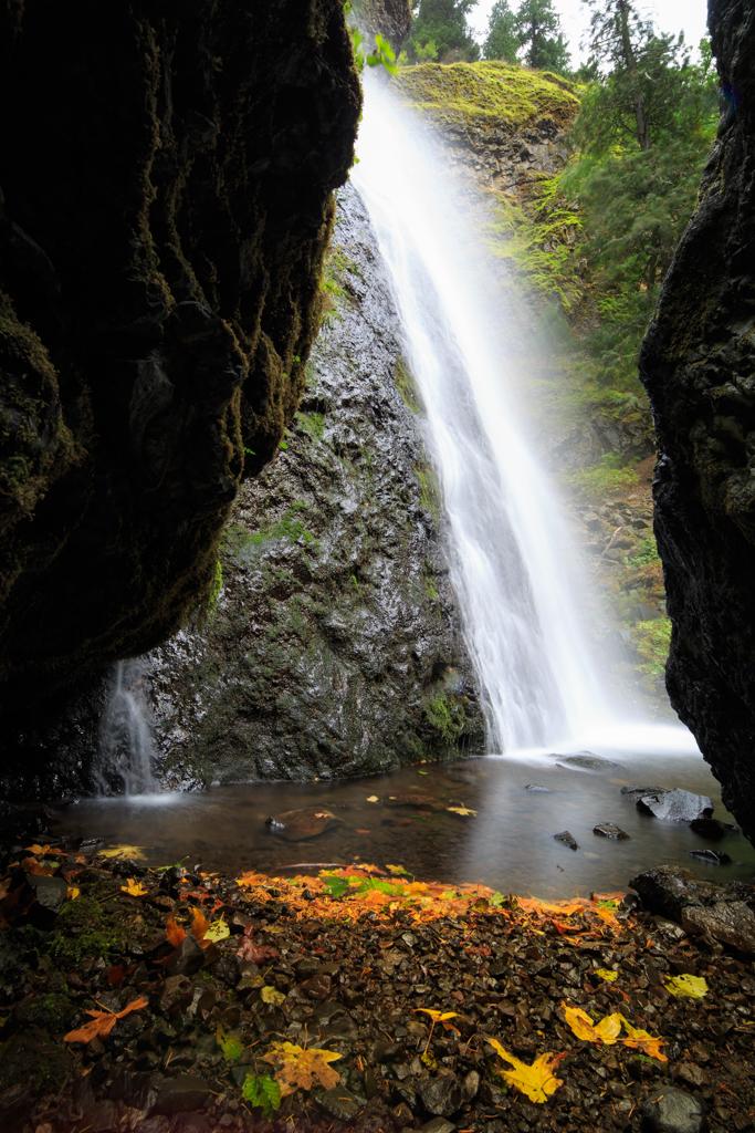 Photo: Starvation Creek Falls