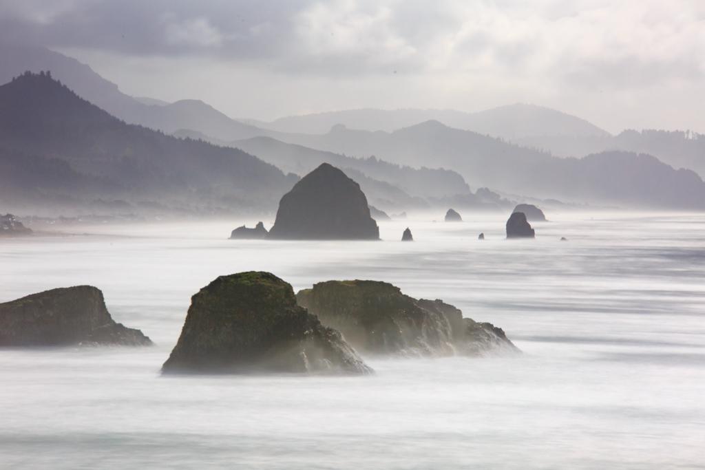 Cannon Beach und Ecola State Park, Pazifik