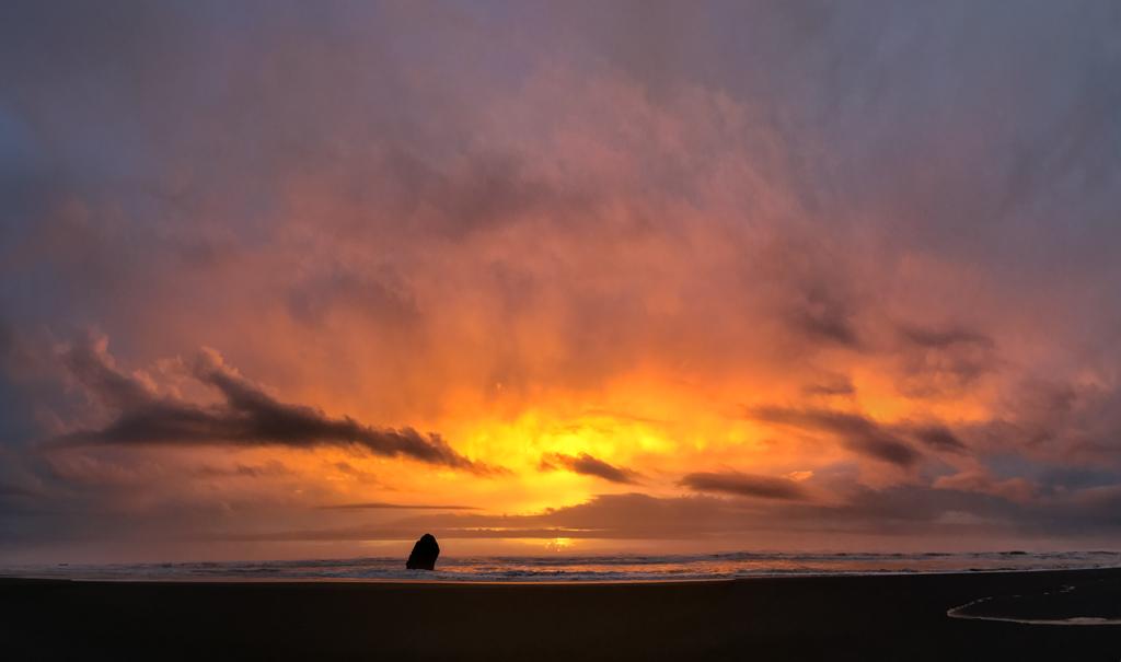 Sonnenuntergang Oregon Coast