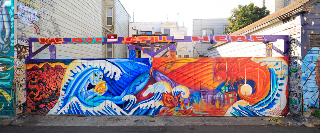 Clarion Alley Welle Mural San Francisco