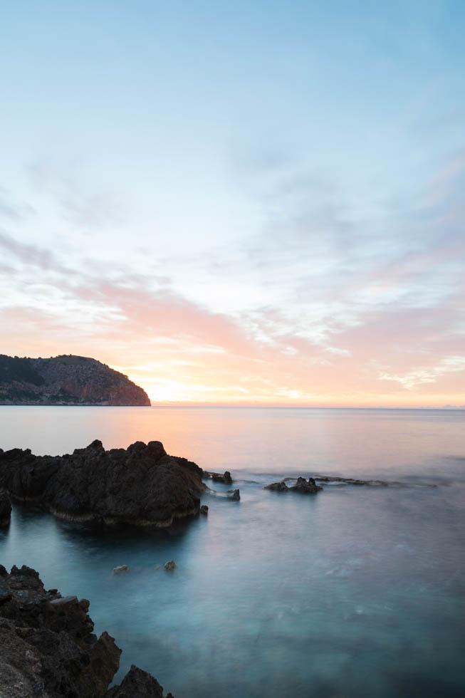 Das helle Licht des Sonnenaufgangs, Mallorca