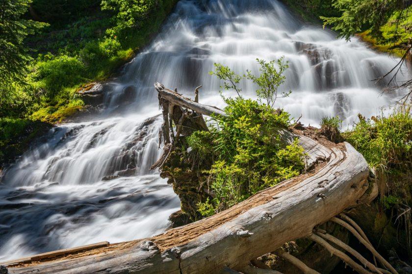 Umbrella Falls, Mt. Hood, Oregon