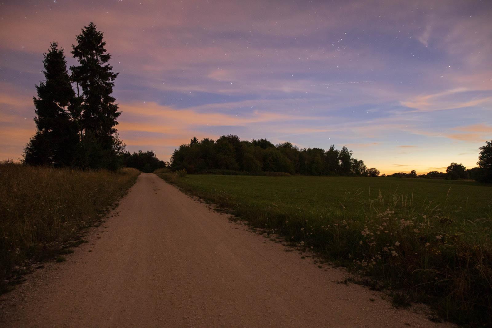 Photo: Im allerletzten Tageslicht zur astronomischen Dämmerung