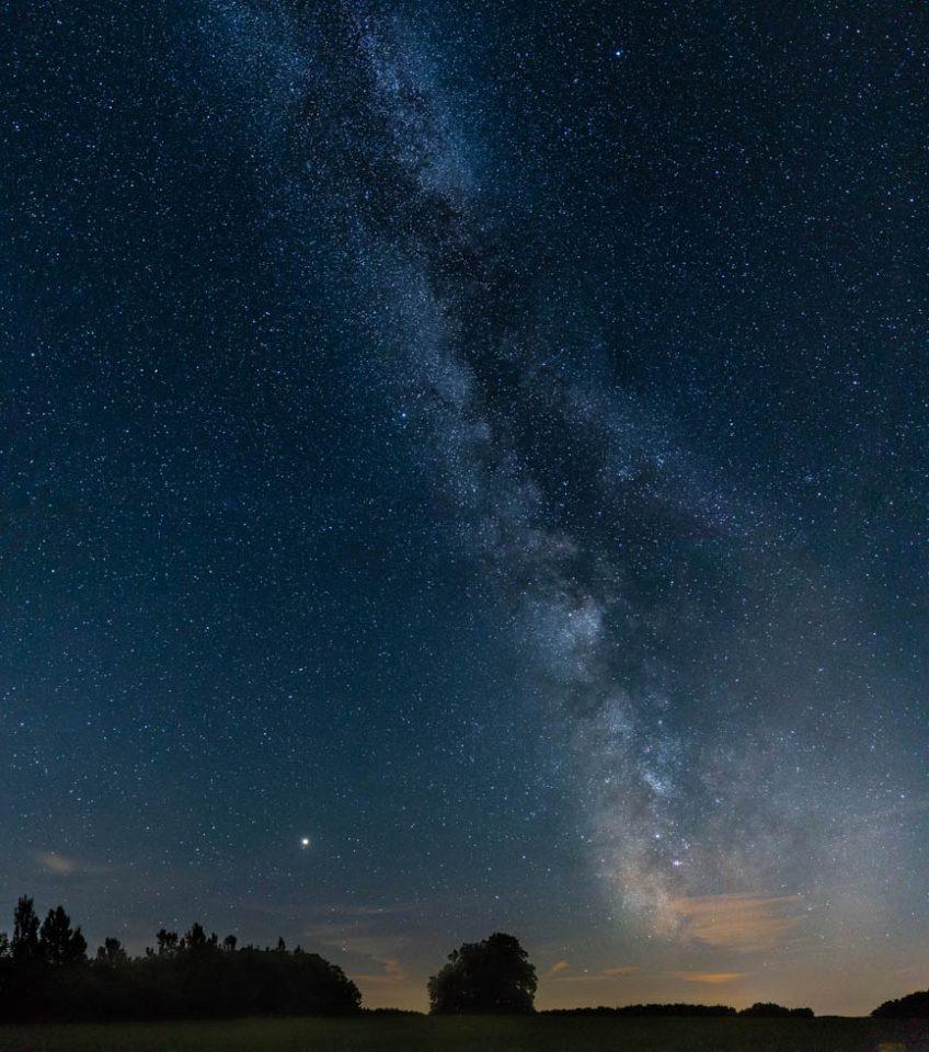 Photo: Milchstraße und Meteoriten auf der Schwäbischen Alb fotografieren
