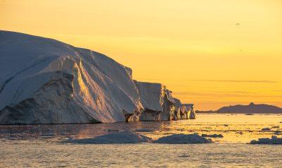 Photo: Ilulissat by night
