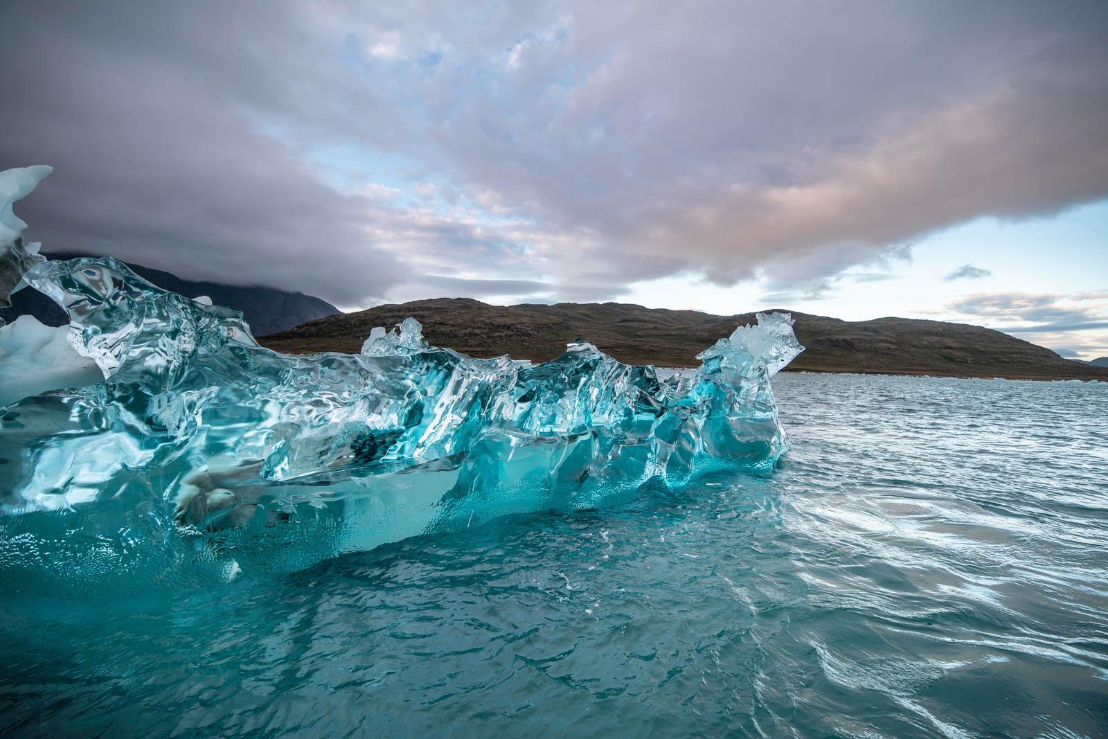 Eisberge in Narsaq, Grönland