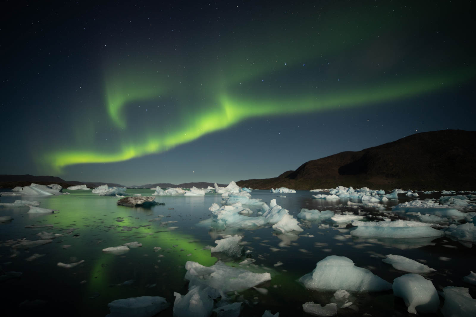 Photo: Meine ersten Nordlichter