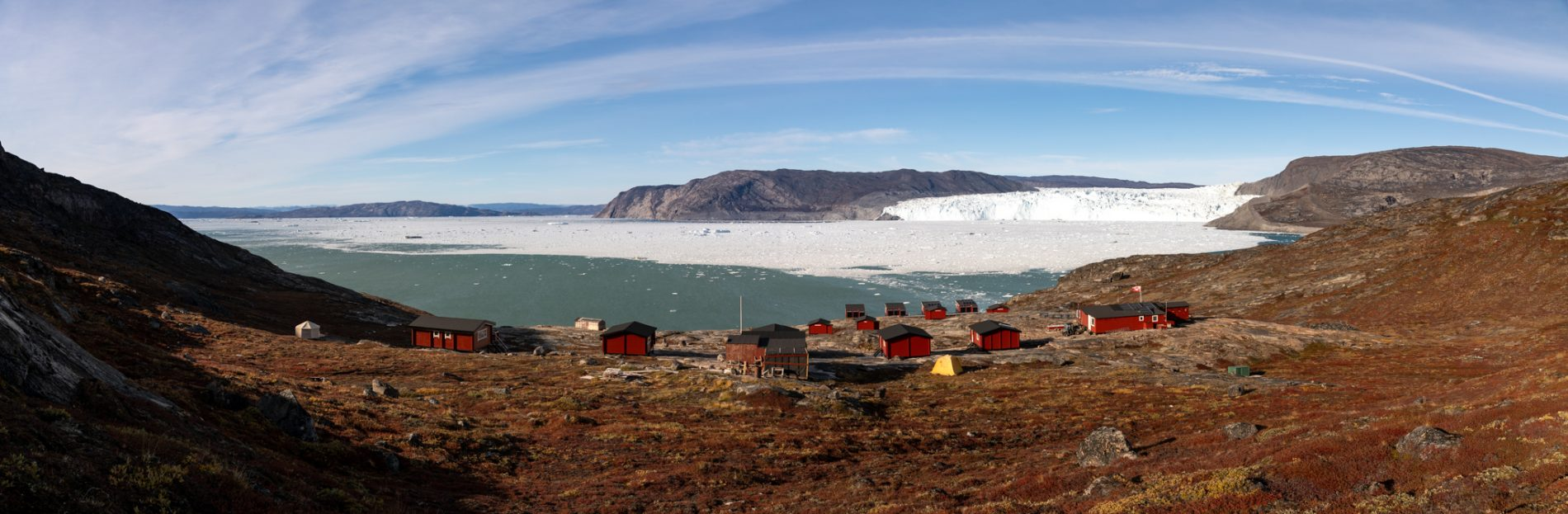 Photo: Panorama Camp Eqi