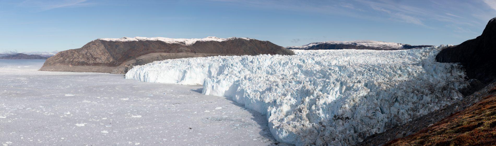 Photo: Der gigantische Eisfluss des Sermia Eqip