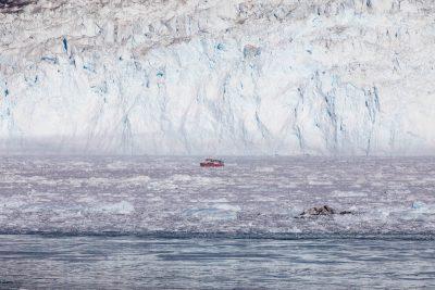 Photo: Gletscher und Fjorde