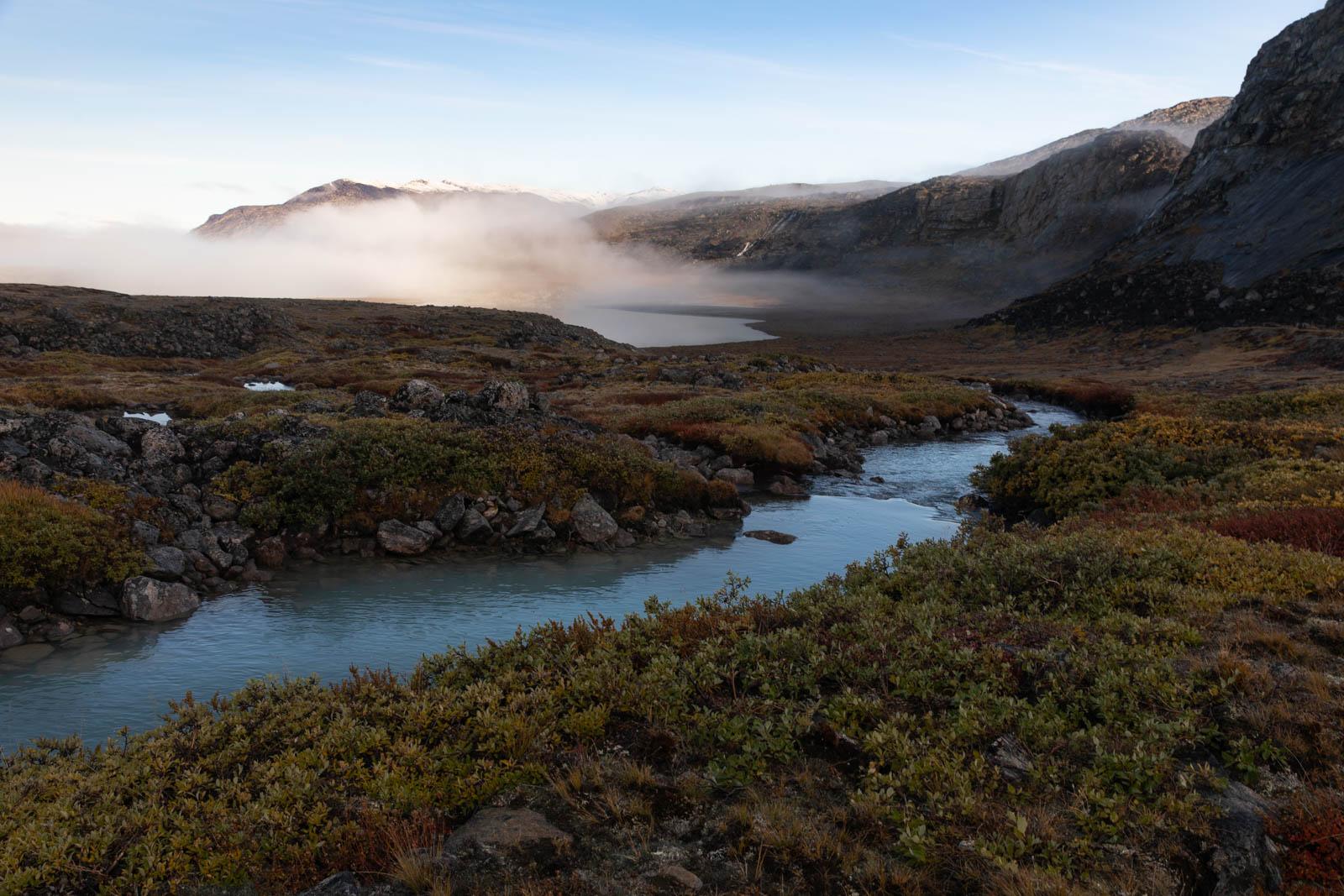 Photo: Auf dem Weg zum Gletscher