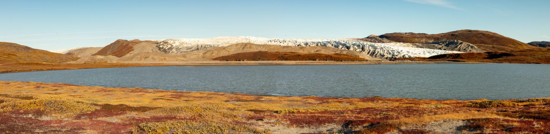 Photo: Panorama am See
