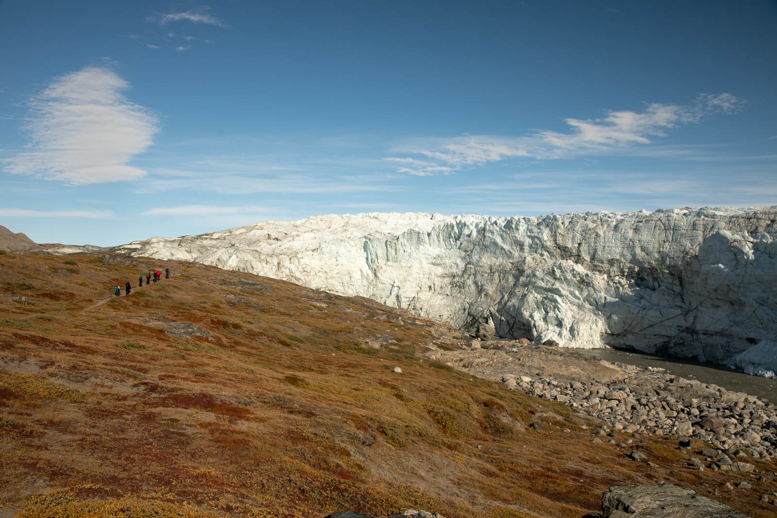Russell Glacier bei Kangerlussuaq, Grönland