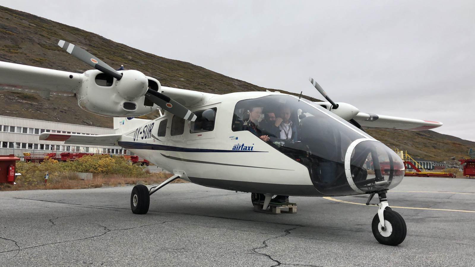 Flugzeug, Kangerlussuaq, Grönland