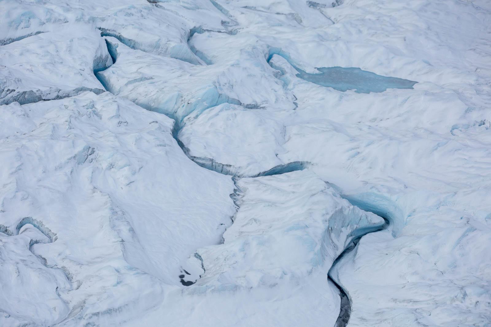 Icecap bei Kangerlussuaq, Grönland