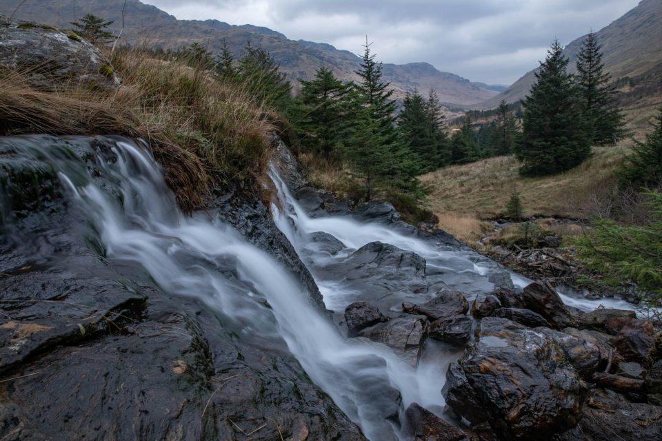 Was wäre Schottland ohne Wasserfall! Winter