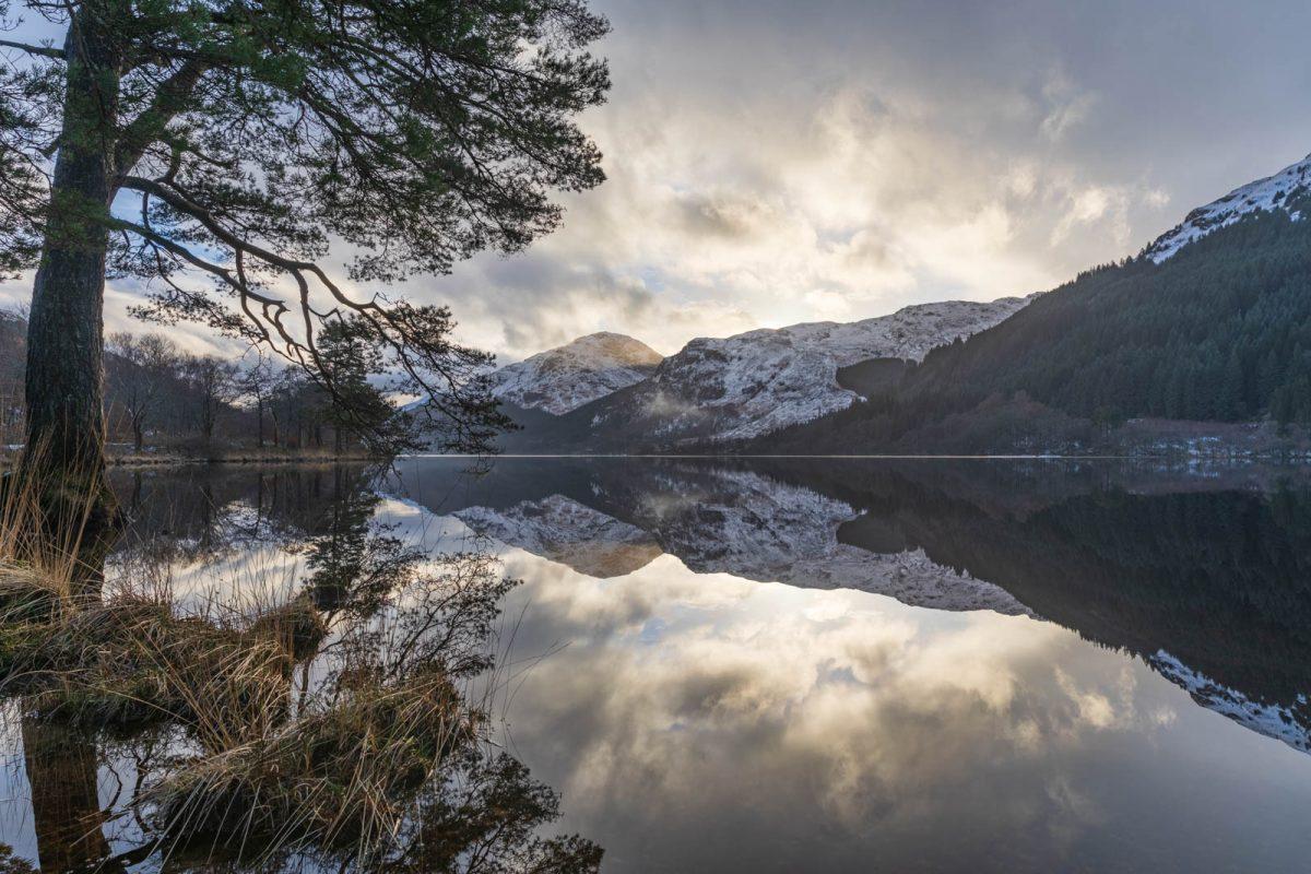 Geniale Stimmung am Loch Eck, Schottland