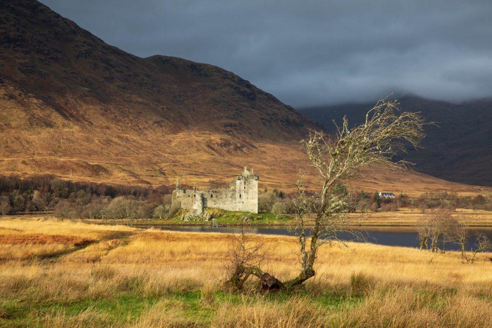 Kilchurn Castle ist einfach fotogen! Schottland im Winter