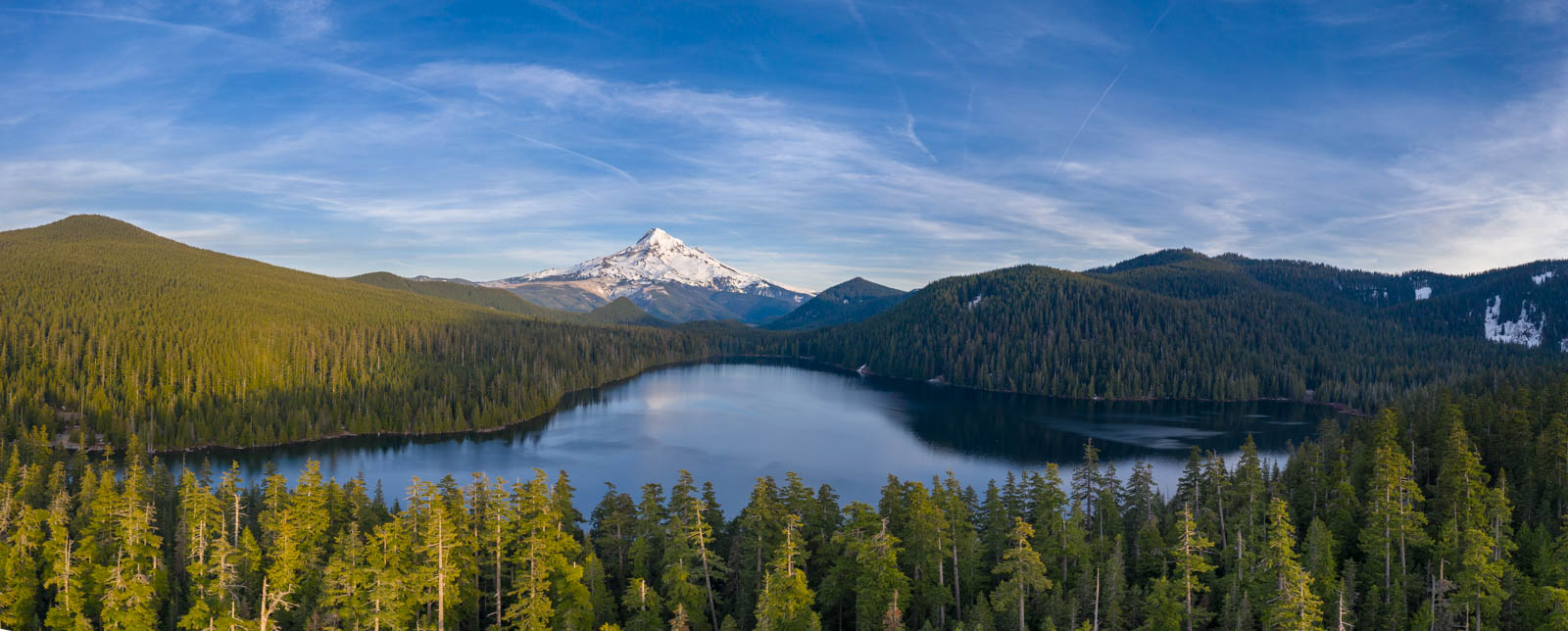 Photo: Lost Lake und Mt. Hood,