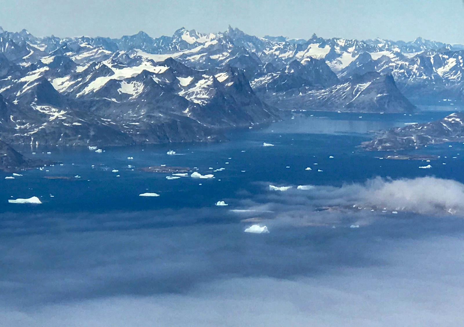 Kulusuk, Ostgrönland, Berge, Eisberg, Grönland, Arktis