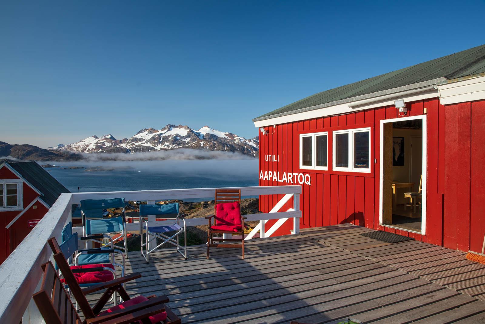 Das Rote Haus, Tasiilaq, Ostgrönland