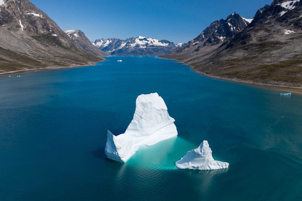 Drohne, Mavic 2 Pro, Ostgrönland, Greenland