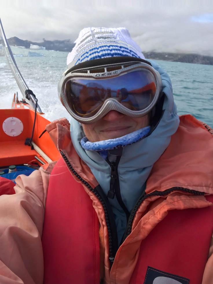 Ostgrönland auf dem Boot