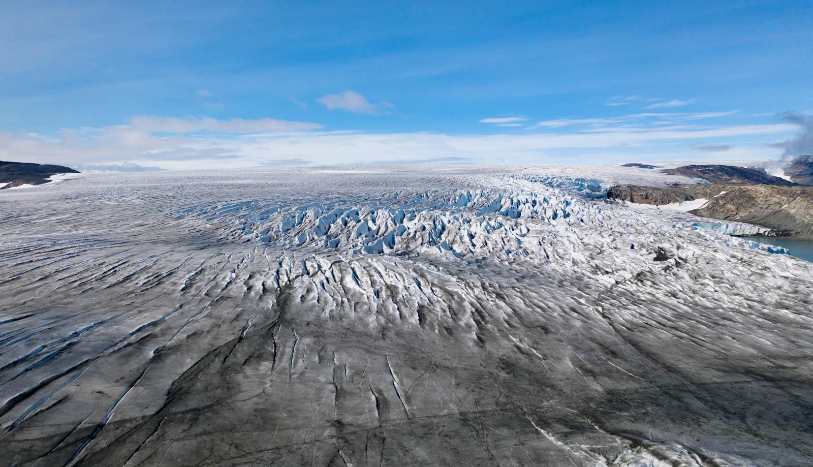 Ostgrönland, Grönland, Gletscher, Drohne, Mavic 2 Pro, Panorama, Icecap