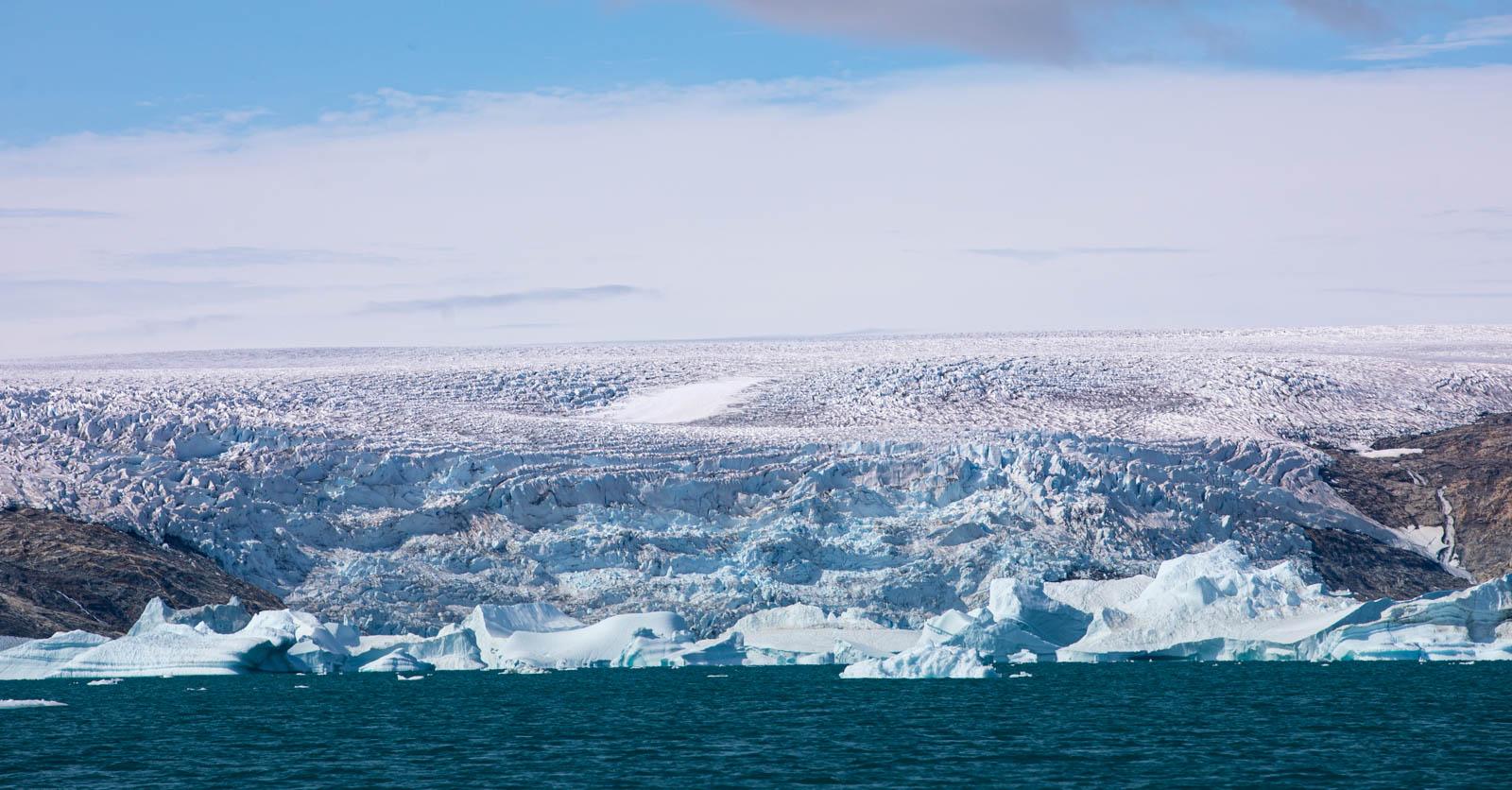 Ostgrönland, Eisschild, Inlandseis, Icecap, Gletscher