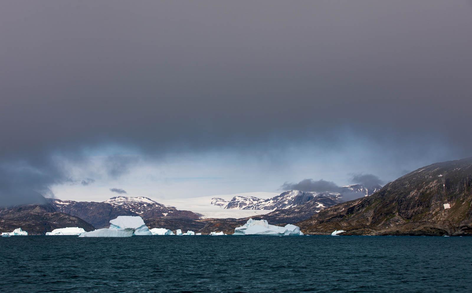 Grönland, Ostgrönland, Eisberg, Icecap, Inlandseis, Eisschild